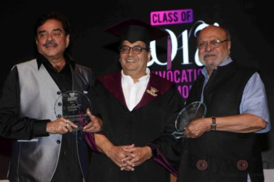 Shatrughan Sinha, Shyam Benegal, Subhash Ghai at the Whistling Woods_Bollyworm (23)