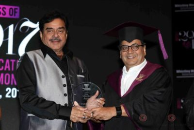 Shatrughan Sinha, Shyam Benegal, Subhash Ghai at the Whistling Woods_Bollyworm (4)
