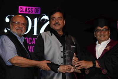 Shatrughan Sinha, Shyam Benegal, Subhash Ghai at the Whistling Woods_Bollyworm (7)