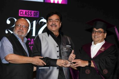 Shatrughan Sinha, Shyam Benegal, Subhash Ghai at the Whistling Woods_Bollyworm (8)