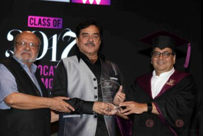 Shatrughan Sinha, Shyam Benegal, Subhash Ghai at the Whistling Woods_Bollyworm (9)