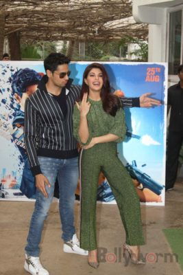 Sidharth and Jacqueline at a special trailer launch of A Gentleman_Bollyworm (7)