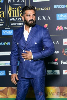 Suniel Shetty at IIFA Rocks_Bollyworm