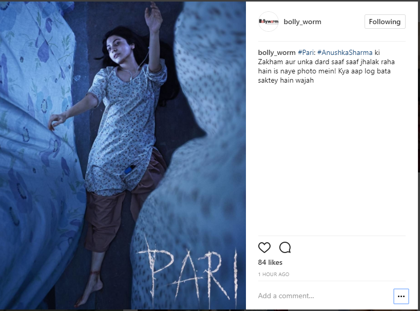 Anushka looks intriguing in new poster of Pari, announces release date