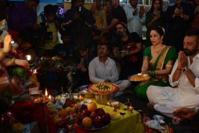 Bollywood Celebs snapped celebrating Ganesh Festival at their homes_Bollyworm (14)