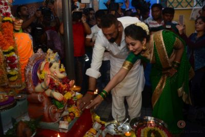 Bollywood Celebs snapped celebrating Ganesh Festival at their homes_Bollyworm (15)