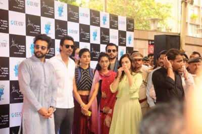 Launch of Gaj Yatra_Bollyworm (14)