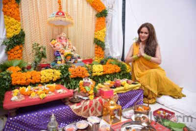 TV actors celebrate Ganesh Chaturthi at their home!_Bollyworm (11)