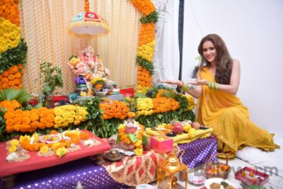 TV actors celebrate Ganesh Chaturthi at their home!_Bollyworm (12)