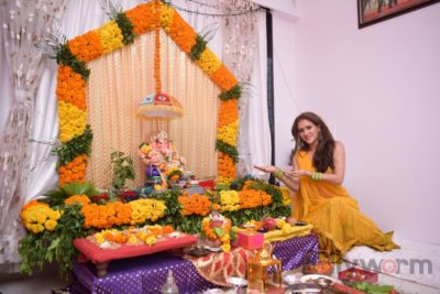 TV actors celebrate Ganesh Chaturthi at their home!_Bollyworm (13)