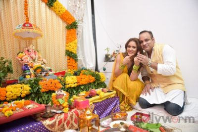 TV actors celebrate Ganesh Chaturthi at their home!_Bollyworm (15)