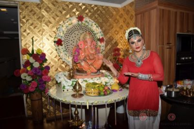 TV actors celebrate Ganesh Chaturthi at their home!_Bollyworm (2)