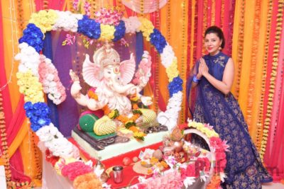 TV actors celebrate Ganesh Chaturthi at their home!_Bollyworm (4)