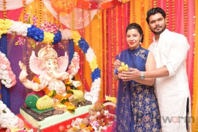 TV actors celebrate Ganesh Chaturthi at their home!_Bollyworm (5)