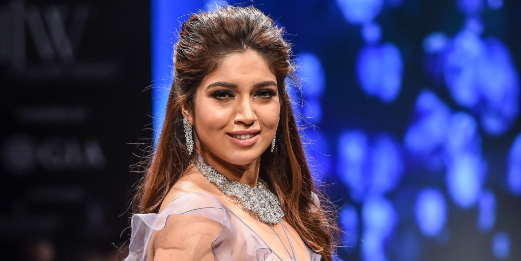 Bhumi Pednekar at Reliance Jewels