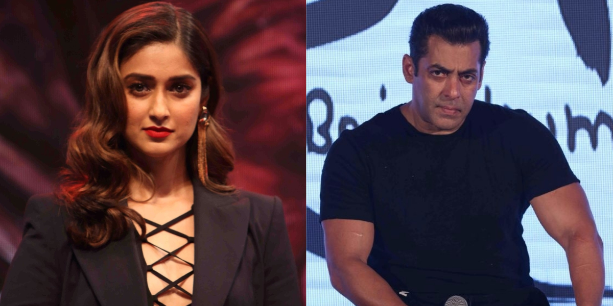 Ileana D'Cruz and Salman Khan
