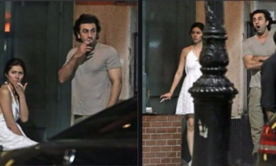 Ranbir Kapoor and Mahira Khan