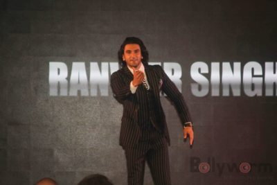 Ranveer Singh at the launch of Kapil Dev Biopic