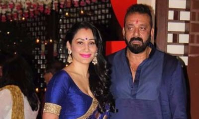Sanjay Dutt and Maanayata