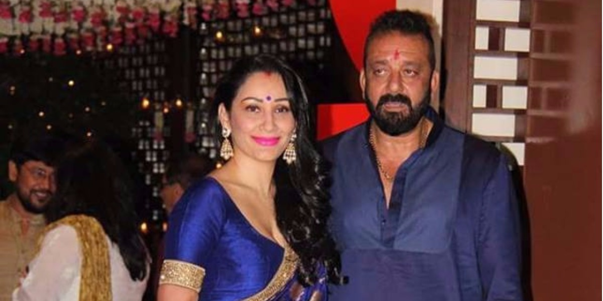 WHAT! Sanjay Dutt's wife Manayata HITS him with shoes ...