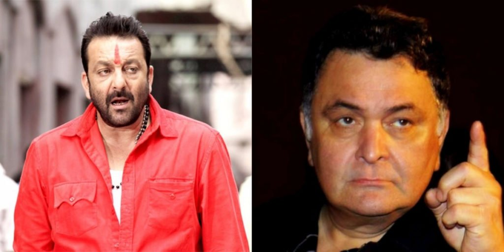 Sanjay Dutt and Rishi Kapoor
