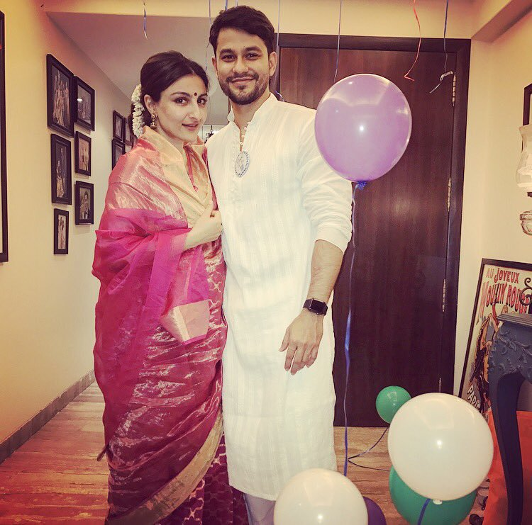 Soha Ali Khan and Kunal Kemmu
