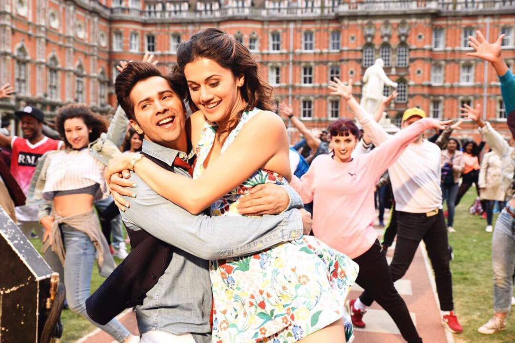 Taapsee Pannu and Varun Dhawan in judwaa