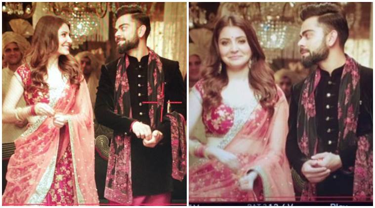 Virat and Anushka Sharma