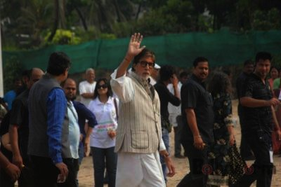 Amitabh Bachchan Cleanliness Drive NDTV-Bollyworm (4)