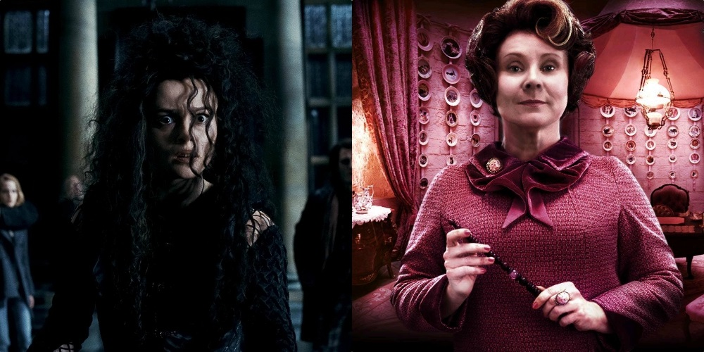 Bellatrix Umbridge and Dolores Umbridge