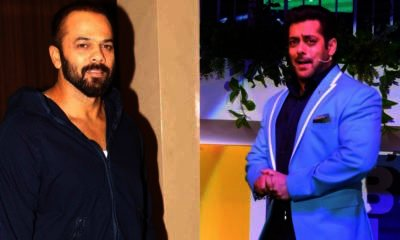 Rohit Shetty and Salman Khan