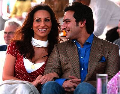 Rosa Catalano and Saif Ali Khan