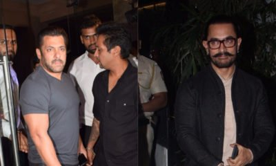 Salman Khan and Aamir