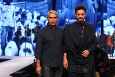 Irrfan Khan showstopper at Van Heusen GQ Fashion Nights 2017 Bollyworm (9)