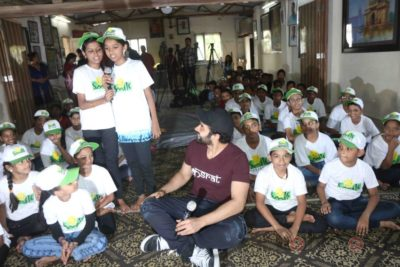 Jackky Bhagnani celebrates Children's Day with Smile Foundation kids Bollyworm (20)