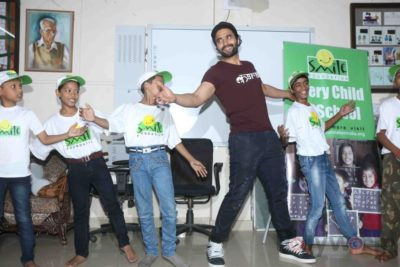 Jackky Bhagnani celebrates Children's Day with Smile Foundation kids Bollyworm (45)