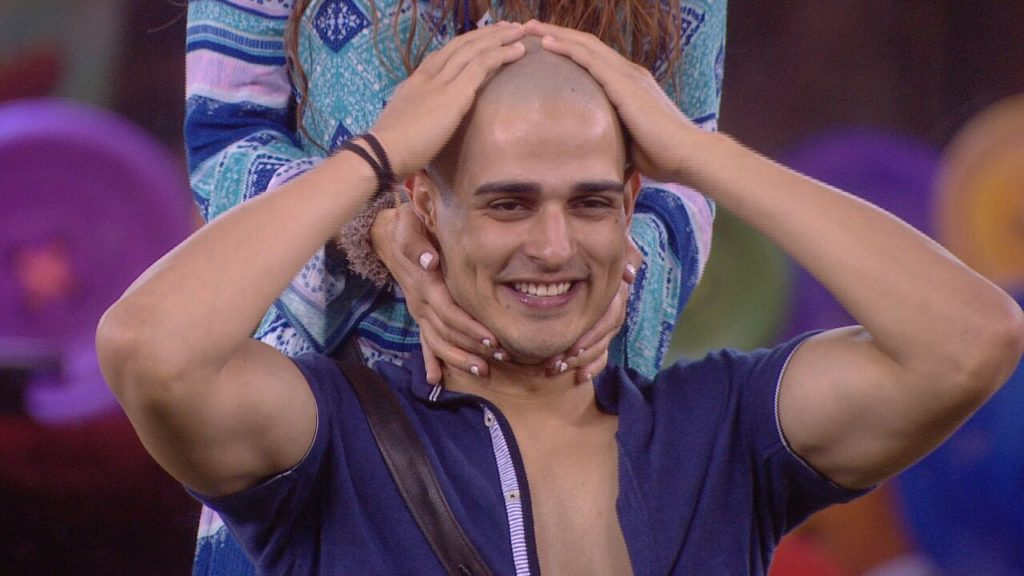 Priyank Sharma bald