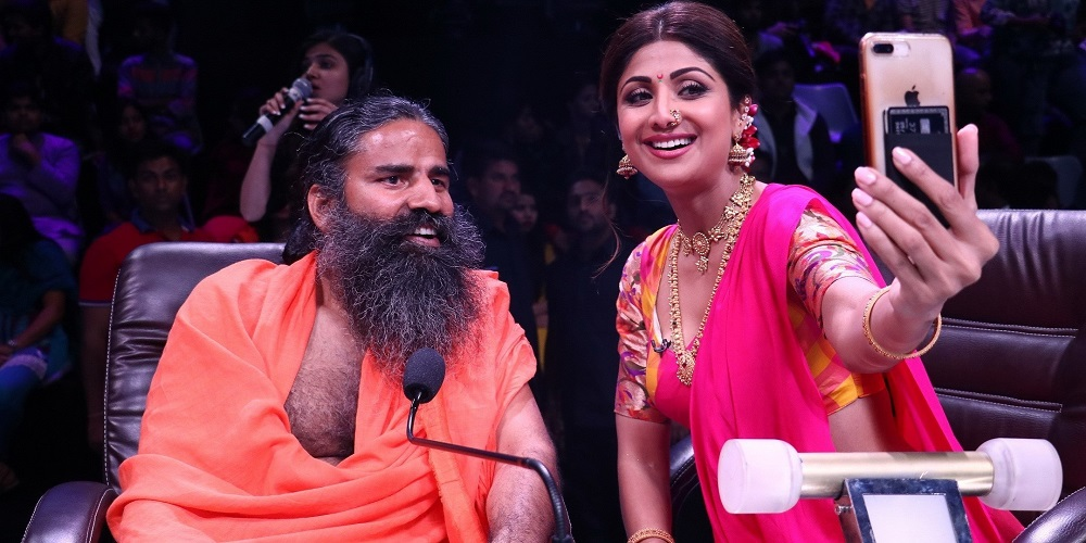 When Baba Ramdev dropped by the sets of Super Dancer Chapter