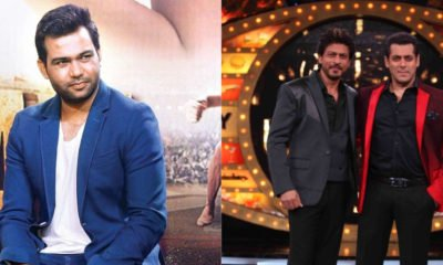 Ali Abbas Zafar and Salman Khan and Shah Rukh Khan