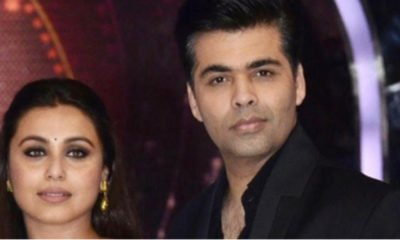 Karan Johar and Rani Mukerji
