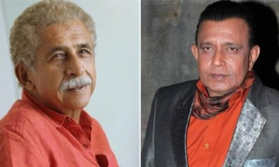 Naseeruddin Shah and Mithun Chakraborty