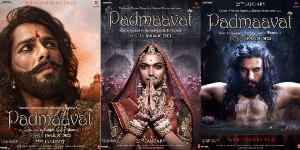 'Padmaavat' screened for journalists in Delhi