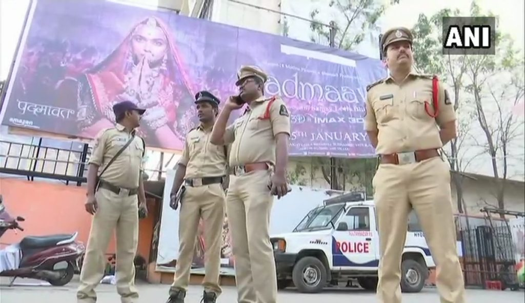 Police security Padmaavat
