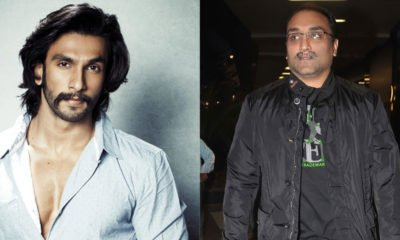 Ranveer Singh and Aditya Chopra