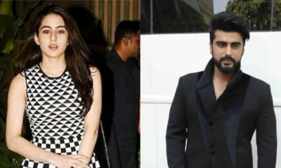 Sara Ali Khan and Arjun Kapoor