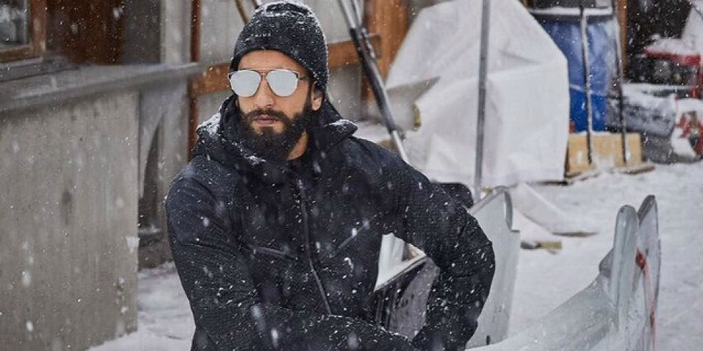 A train named after Ranveer Singh in Switzerland! - Bollyworm