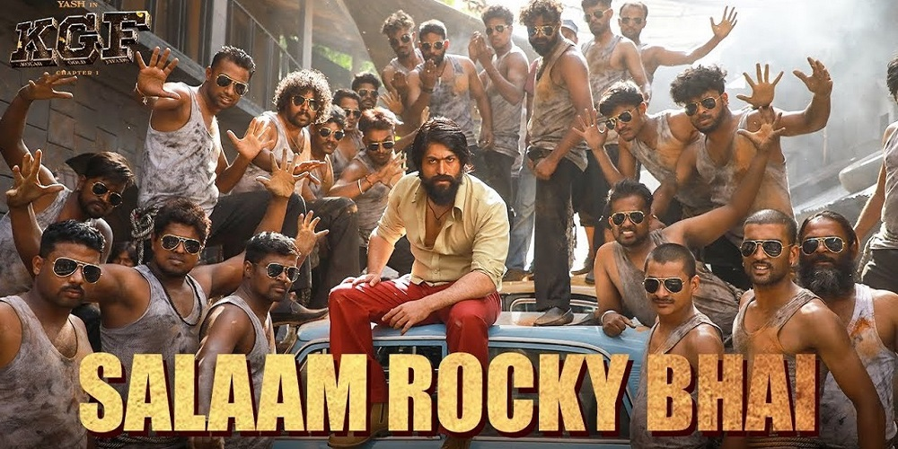 Kgf Chapter 1 The First Song Of The Film Salaam Rocky Bhai Looks