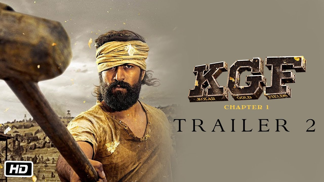 KGF Trailer 2 OUT NOW, A Tale Of Power & Greed! - Bollyworm