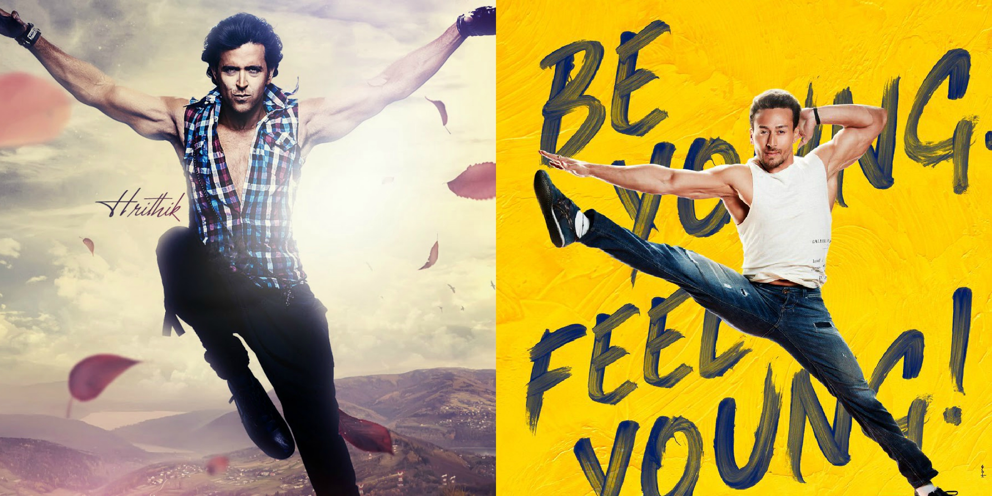 Hrithik Roshan & Tiger Shroff all set to have a dance face